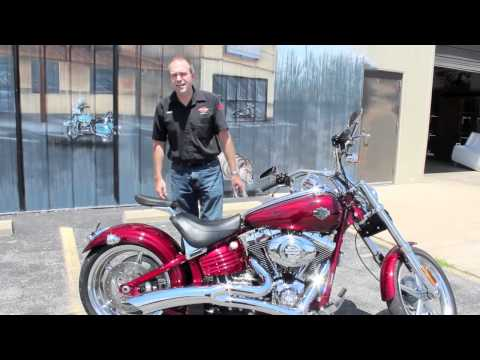 Pre-owned 2010 Harley-Davidson Softail Rocker C