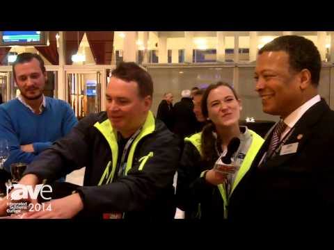 ISE 2014: rAVe Magician Wows Guests at Opening Reception, Mike Blackman Joins in