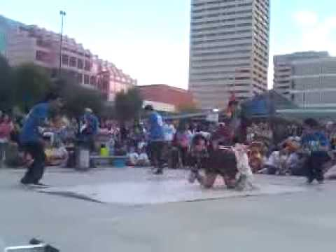 Rhythm Speaks Old Woman Breakdancing