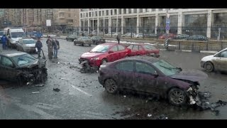 Fail Compilation of Driving in Russia SEPTEMBER 2014 #2