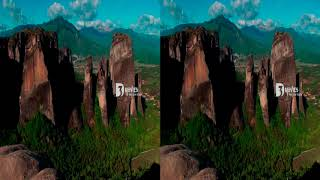 Meteora, 3D documentary, Greece, 3d movies,