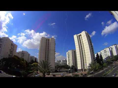 Tel Aviv, 16/July/2014, 9:27 a.m. - Israel Under Hamas' Rockets Fire