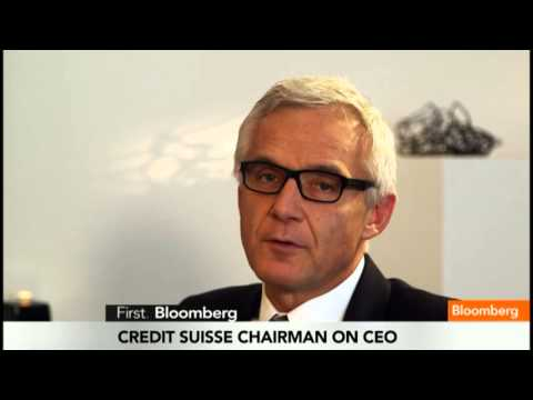 Credit Suisse Chairman Sees No Reason to Change CEO
