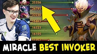 Miracle BEST INVOKER in Dota — hard to carry team alone