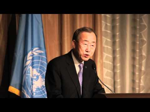 Ban Ki-moon: 2011 UN Foundation Global Leadership Award Dinner