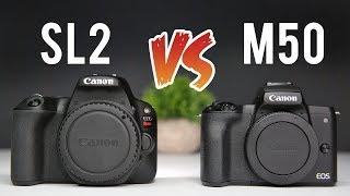 Canon M50 vs Canon SL2 Ultimate Comparison
