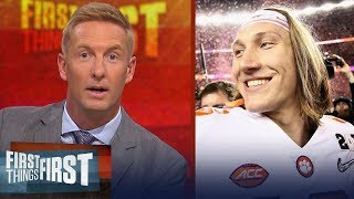 Joel Klatt talks OSU, early Heisman favorites & predicts CFB playoff | CFB | FIRST THINGS FIRST