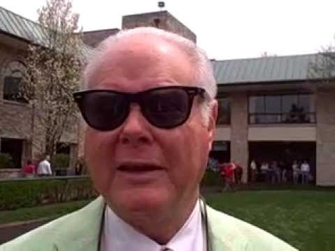 Barry Irwin on Cerro in Coolmore Lexington