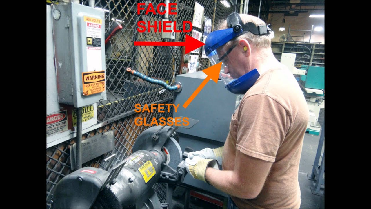 Bench Grinder Safety Youtube