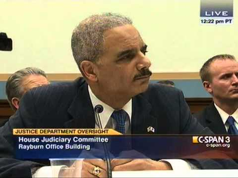 Eric Holder on Born Alive Infant Protection Act