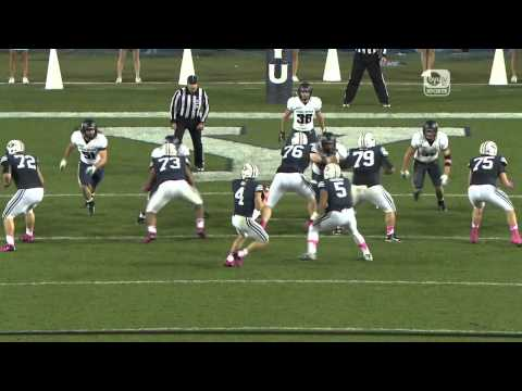 An excerpt from this week's episode of True Blue, this week marked the half way point for the 2012 BYU Football season. Here's a look at the BYUtv Sports mid...