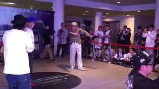 80 letni Dziadek tańczy Popping!!