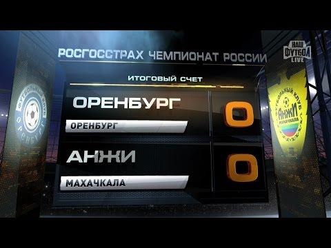 Обзор матча: Футбол. РФПЛ. 6-й тур. Оренбург - Анжи 0:0