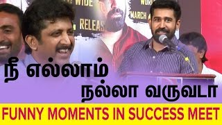 All credits to sasi vijay antony speech in pichaikaran success meet | Cine Flick