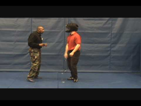 Police Defensive Tactics - Finger Locks Cross-Side Image 1
