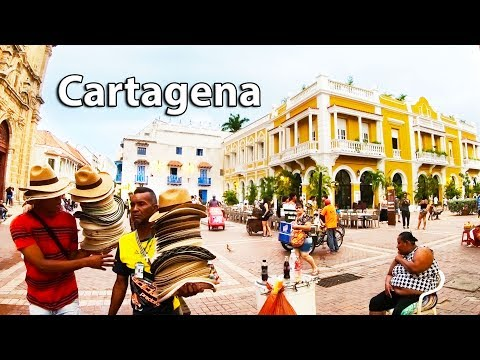 Cartagena Colombia 2018 - GoPro Hero 6 4K 60fps Test