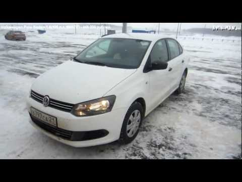 Volkswagen Polo Sedan. Тест-драйв.Anton Avtoman
