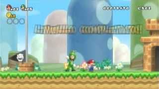 Let's Play New Super Mario Bros Wii - Extra 13: Modalità libera e caccia alle monete