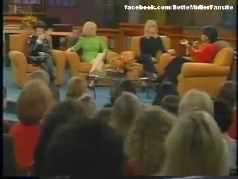 Goldie Hawn, Diane Keaton and Bette Midler on Oprah 1997 1/2