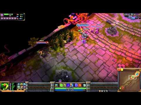 Let's Battle League of Legends #008 - Nasus vs. Cassiopeia (3/4)