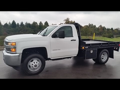 2015 CHEVROLET 3500 CAB & CHASSIS 6.0L 4X4 9' WIL RO FLAT BED NEW FOR SALE CALL 855-507-8520