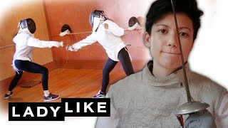 Women Try Fencing For The First Time • Ladylike