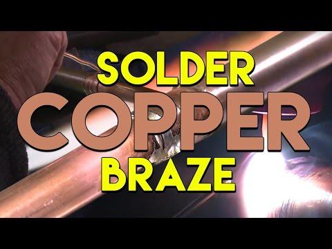 TIG Brazing VS Soldering Copper Pipe | TIG Time