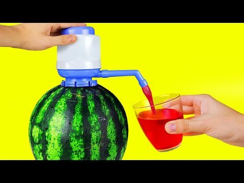 17 SIMPLE LIFE HACKS WITH WATERMELON