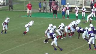 2016-17 MIDDLE SCHOOL FOOTBALL: FAIRVIEW FALCONS PASSING/RECEIVING HIGHLIGHT REEL