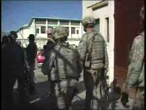 Combat Camera Video: US Troops, Afghans Patrol Kandahar City