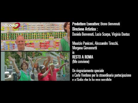 Radio Globo ft. Carlo Verdone - Resto a Roma (me conviene)