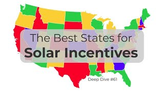 Solar Rebates - Solar Incentives by State - #61