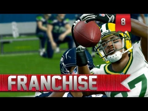 Madden 13 - Connected Careers Franchise | Green Bay Packers vs. Seattle Seahawks [EP 8]