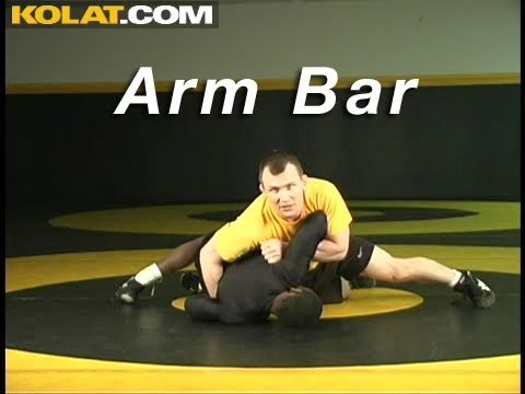 Arm Bar KOLAT.COM Wrestling Techniques Moves Instruction Image 1