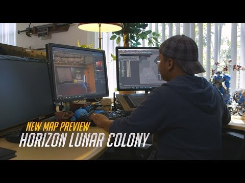New Map Preview: Horizon Lunar Colony | Overwatch