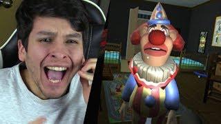 ÉSTE PAYASO DA MÁS MIEDO QUE GRANNY !! OMG - The Clown (Horror Game)
