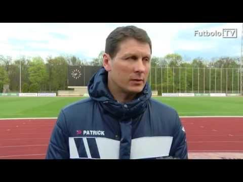 """T.Ražanauskas: """"Kai kurie žaidėjai nepilnai atitinka A lygos kriterijus"""""""