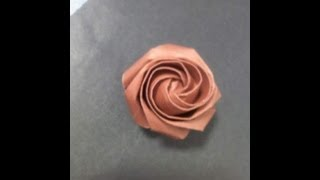 My Other Rose Origami Instruction Step By Step ,it Is Easy Trust Me.