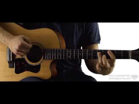Winter Wonderland Guitar Lesson - Brad Paisley