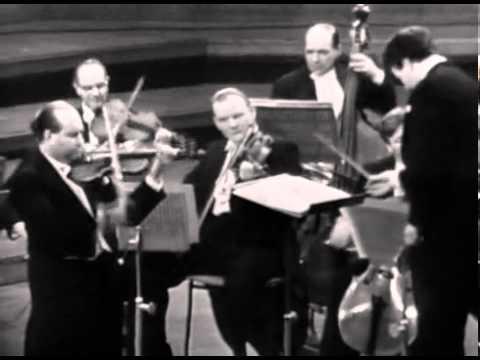 Давид Ойстрах - Bach, Violin Concerto in A minor