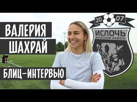 Блиц-интервью №1 | Валерия Шахрай