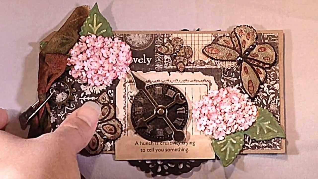 Joy crafts fantasy flowers and vintage borders youtube for Joy craft flower dies