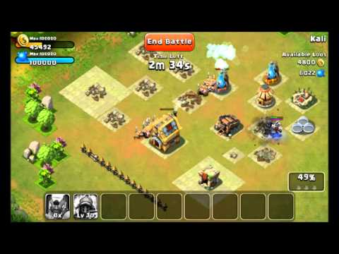 Castle Clash for Android - EASY RESOURCES!