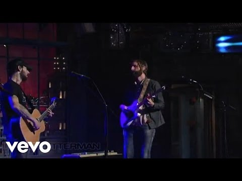 Band Of Horses - Slow Cruel Hands Of Time (Live On Letterman)