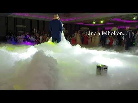 Szárazjég bérlés Esküvőre - FényMágia rendezvénytechnika -