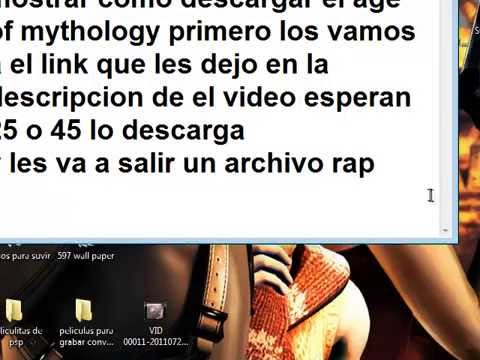 como descargar age of mythology 1 link español