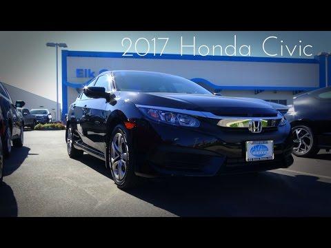 2017 Honda Civic LX 2.0 L 4-Cylinder Review