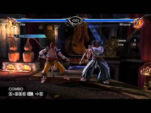 SOULCALIBUR V Official Guide XIBA COMBOS, Video 10_18