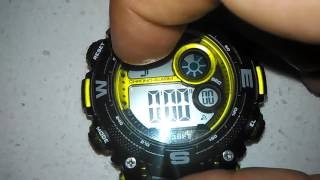 HOW TO SET YOUR ARMITRON WATCH ... AND FUNCTIONS