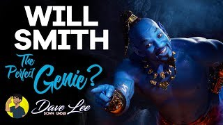 Will Smith as The Genie is PERFECT for Disney's Aladdin Remake